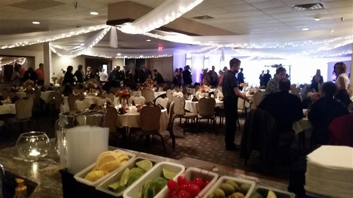 catering event inside ballroom