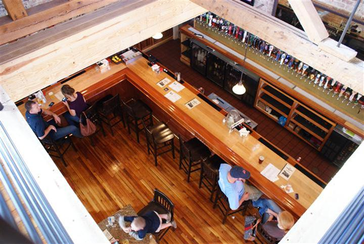 View of Bar from Mezzanine