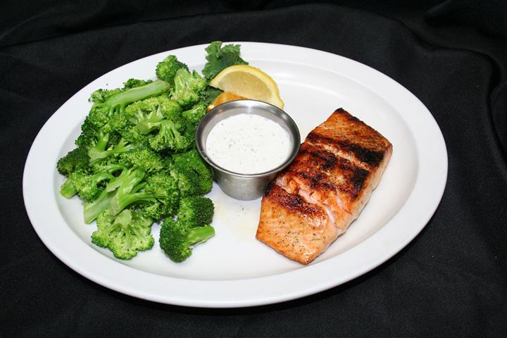 Grilled North Atlantic Salmon