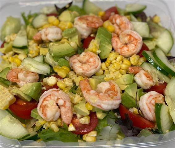 Shrimp, crab, avocado salad special