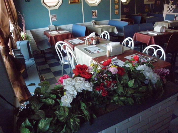Dining area of little Italy