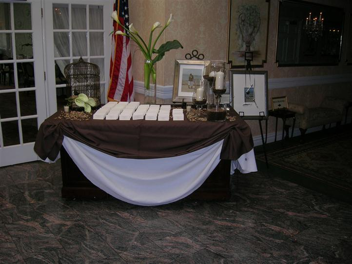 sign in table for wedding