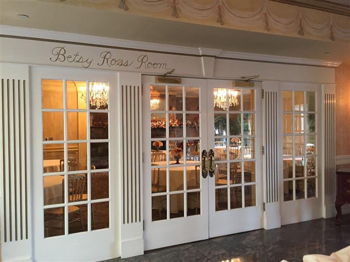 entrance to betsy ross room