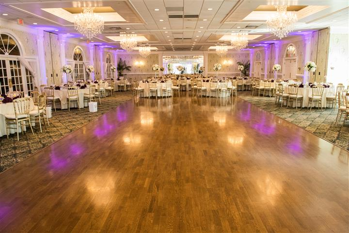 banquet room dance floor