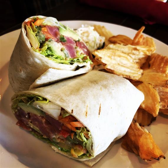 wrap with chips