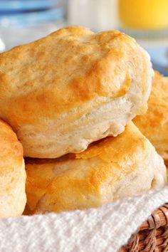 Home Baked Buttermilk Biscuit
