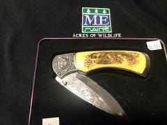 Name: #24 Wolf engraved knife handle (2)