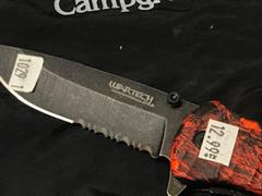 Name: #1029.1 Red Cameo Knife (2) Description:  Group: Catering Images