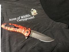 Name: #1029.1 Red Cameo Knife (4) Description:  Group: Catering Images