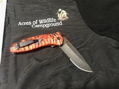 Name: #1029.1 Red Cameo Knife (5)