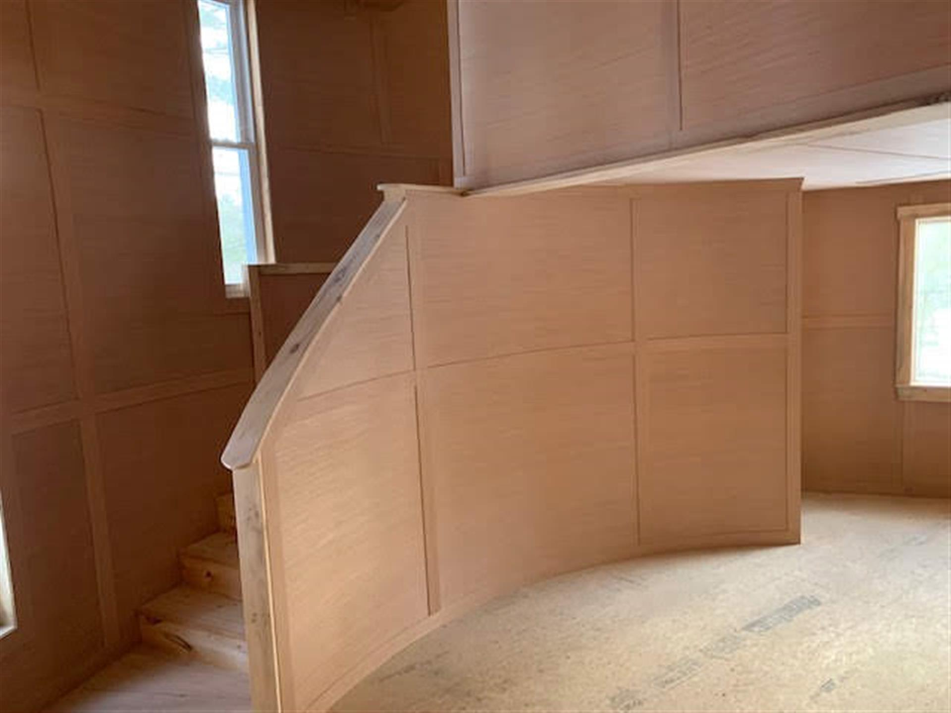 View of Stairs to Loft