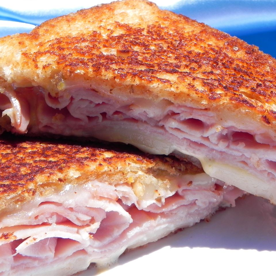 Grilled Cheese w/ Ham on HMB