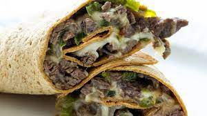 Philly Steak and Cheese Wrap Basket