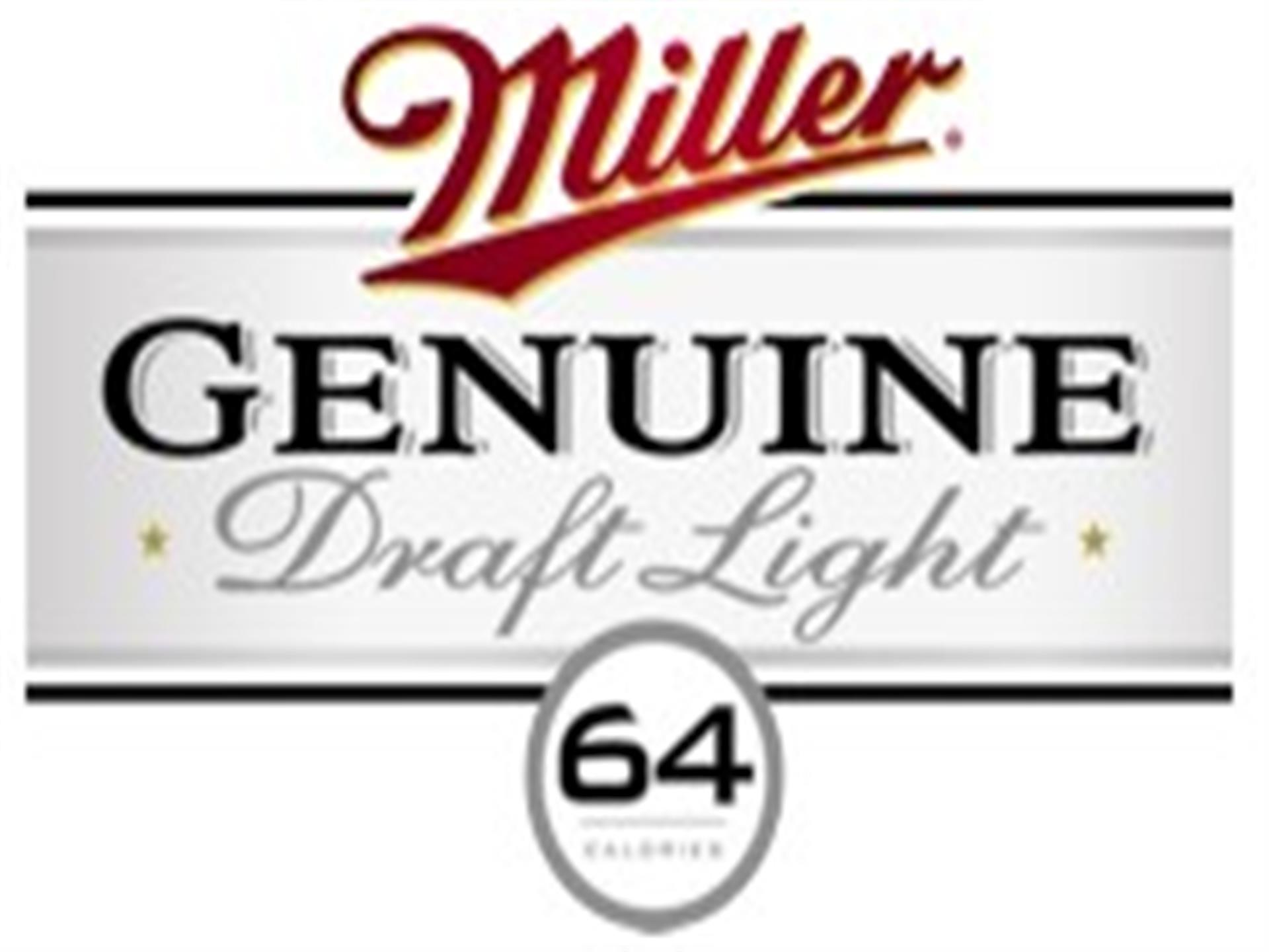 miller genuine draft light logo