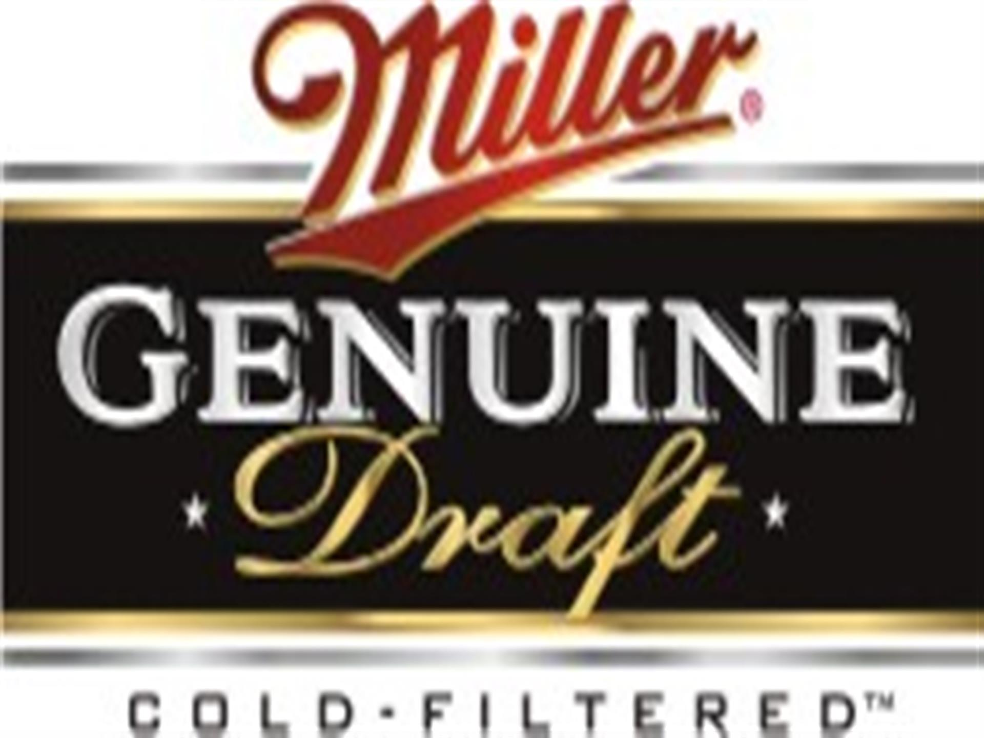 miller genuine draft cold filtered logo