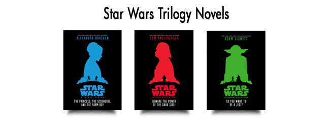 ---- Star Wars Trilogy Novels(large)