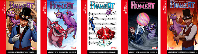 Figment: Journey into Imagination / Disney: Dreamfinder
