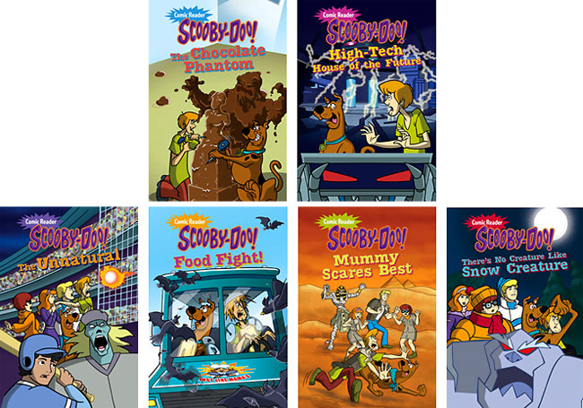 Scooby-Doo Comic Readers
