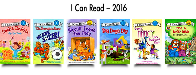 I Can Read – 2016