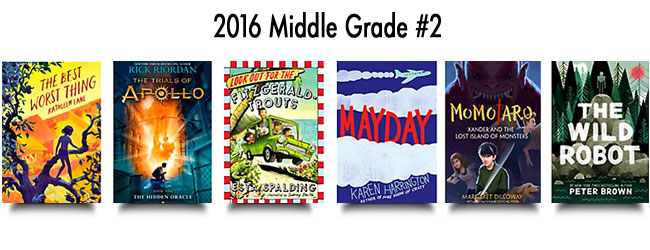 2016-Middle-Grade-Collection #2