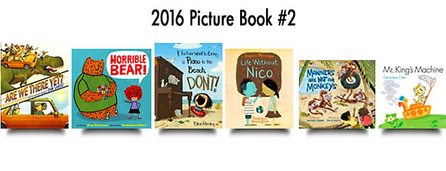 2016 Picture Book Collection #2