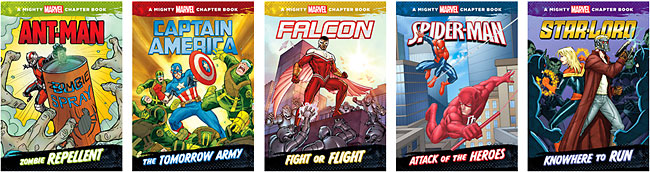 Mighty Marvel Chapter Books