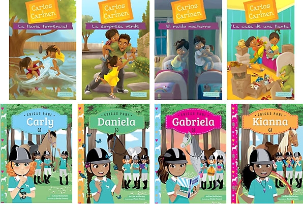 Spanish Editions: Carlos & Carmen 1 / Pony Girls