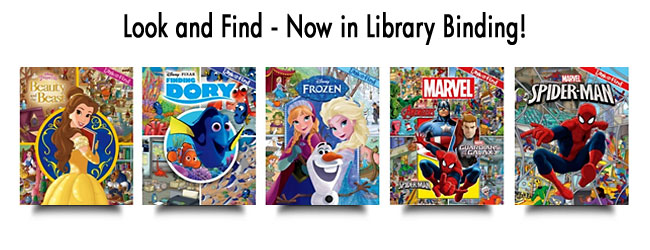 Look and Find - Now in Library Binding!