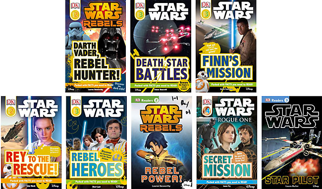 Star Wars Leveled Readers - Now