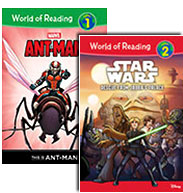 World of Reading Level 1 Set 3 / Level 2 Set 2