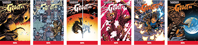 Guardians of the Galaxy: Rocket Raccoon / Guardians of the Galaxy: Groot