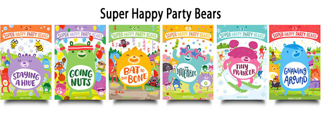 Super Happy Party Bears