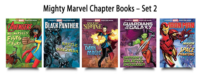 Mighty Marvel Chapter Books – Set 2