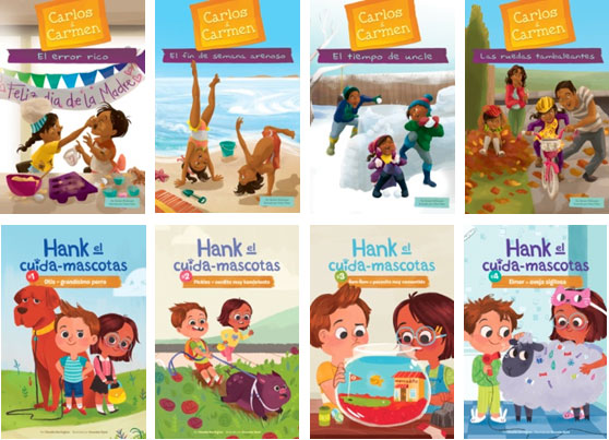 Carlos & Carmen / Hank the Pet Sitter – Spanish Editions