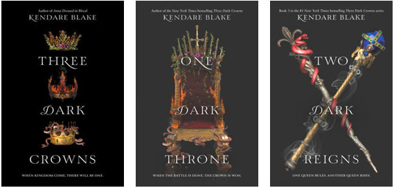 Three Dark Crowns Series