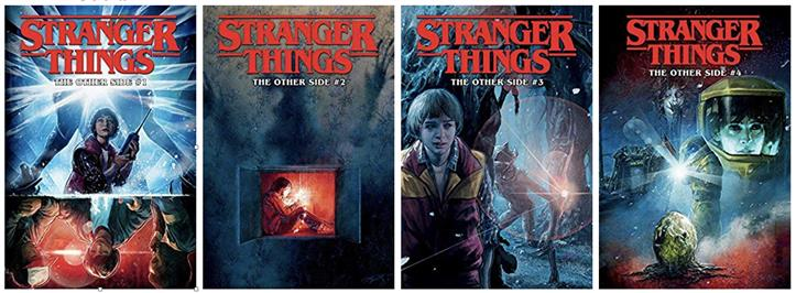Kids Reference - Stranger Things – Graphic Novels