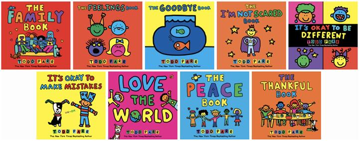 Todd Parr Picture Books