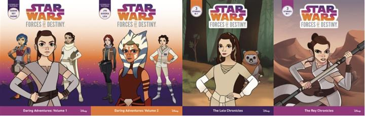 Star Wars: Forces of Destiny Chapter Books