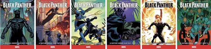 Kids Reference - Black Panther – Graphic Novels
