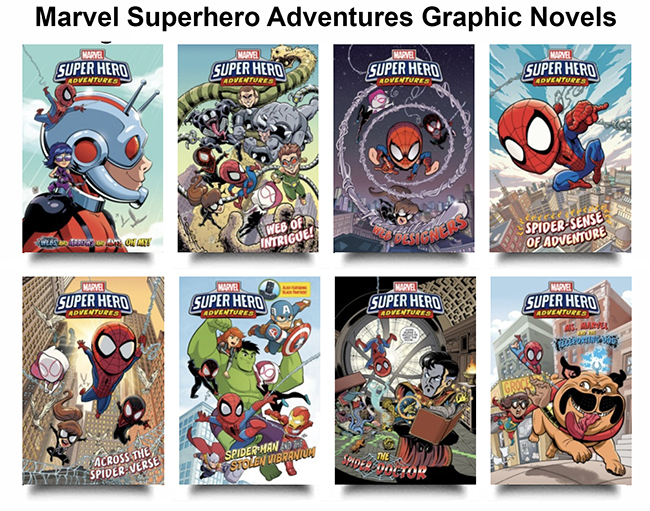 Marvel Superhero Adventures Graphic Novels
