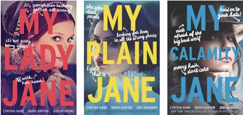 Cynthia Hand's The Lady Janies Series
