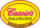 cascio's steak and pizza house established 1946