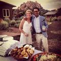 Bride and Groom in Red Rock Country