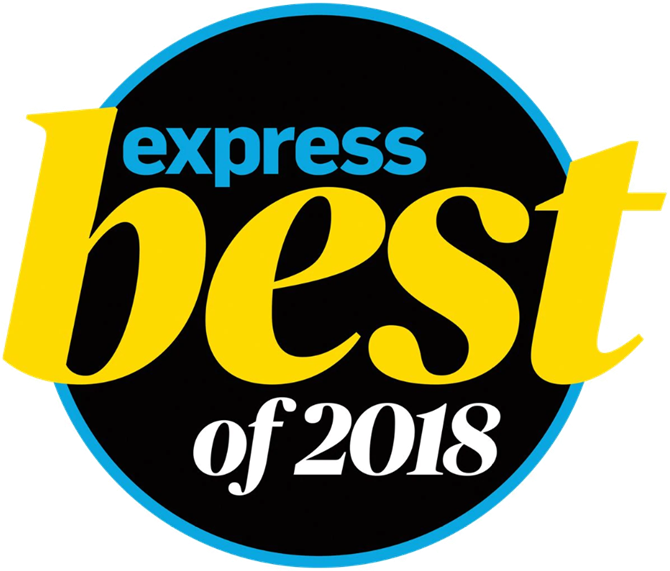 express best of 2018 badge