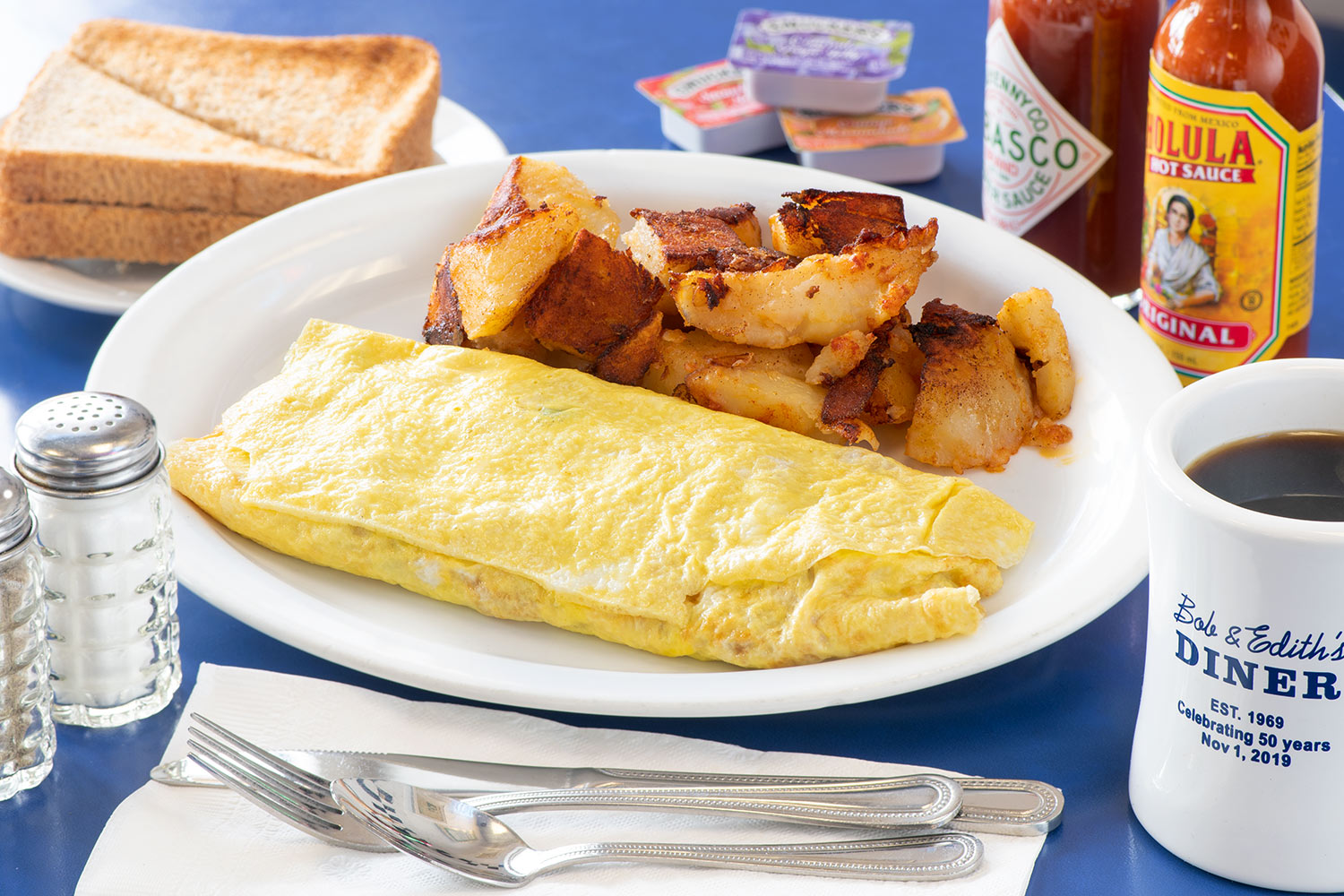 Western Omelet and Homefries