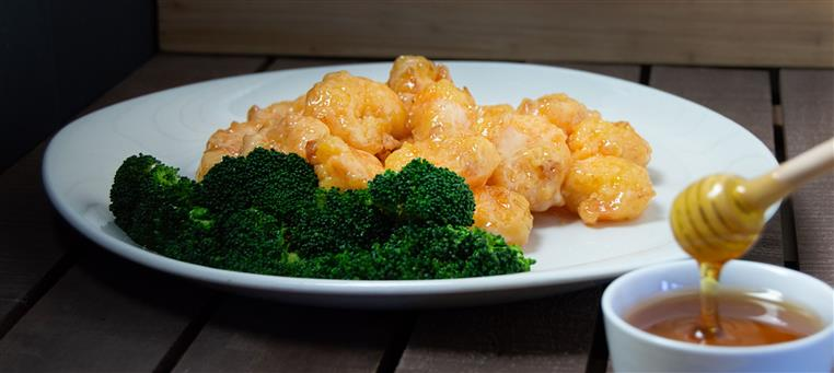 chicken and broccoli with honey