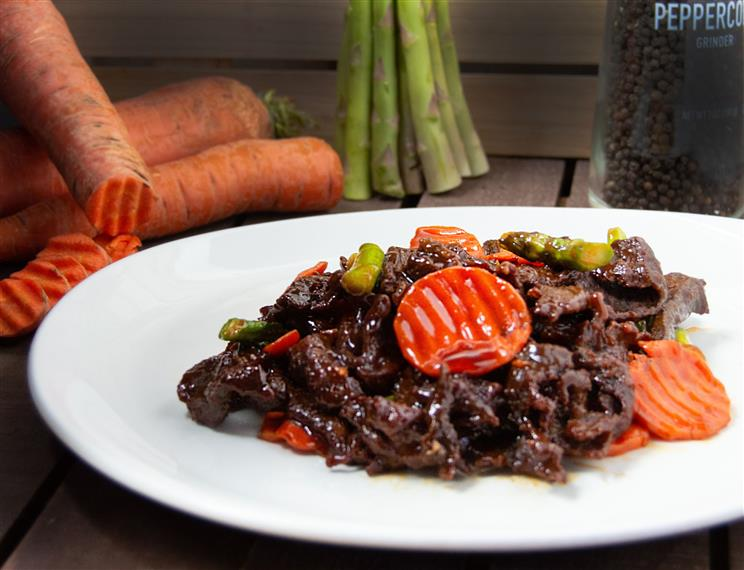 spicy beef with vegetables