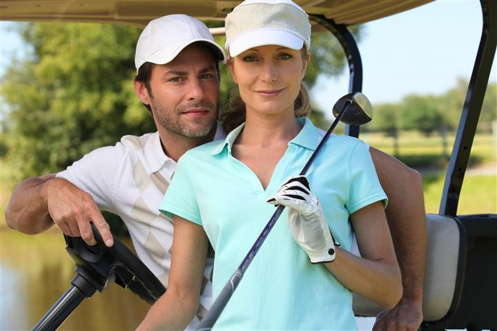 ---- couple plays golf (large)