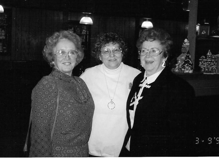 Three women customers visiting Archie's Waeside.