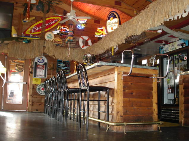 Photo of bar chairs and bar